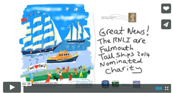 Watch videos of the iPad postcards being created